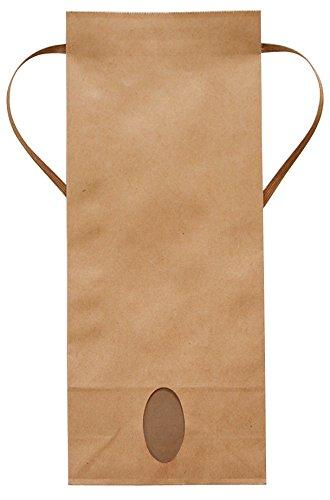 マルタカ クラフト 無地 窓付 角底 1~1.5kg用紐付保湿タイプ米袋 1ケース(300枚入) KHP-830 B07C5NYRPY 1~1.5kg用米袋|1ケース(300枚入) 1ケース(300枚入) 1~1.5kg用米袋