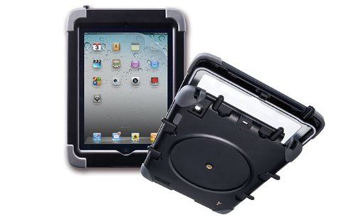 The Joy Factory Ultra Rugged Waterproof, Military Grade, Shockproof, Case with Built in Heavy-Duty Screen Protector compatible with iPad 2/3/4th Gen (CWA101) by The Joy Factory