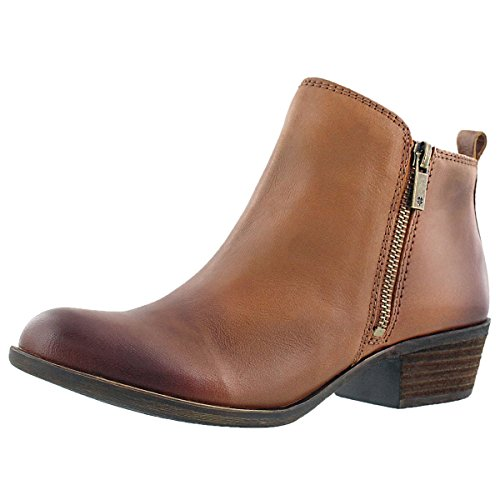 Lucky Brand  Women's Basel Boot, Toffee, 8 M US