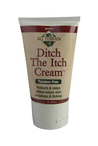 All Terrain Natural Ditch the Itch Cream 2oz, Helps Relieve Minor Skin Irritations & Itching, Helps With Poison Ivy, Insect Bites, Rashes
