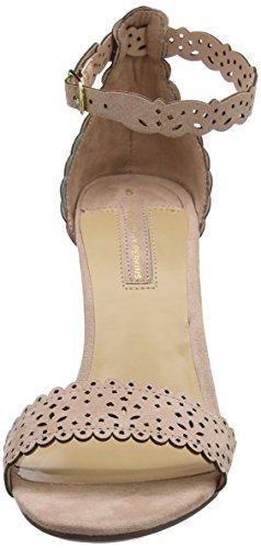 Dorothy Perkins Damen Swan Lazer Cut Sandalen mit Absatz Orange (Blush)
