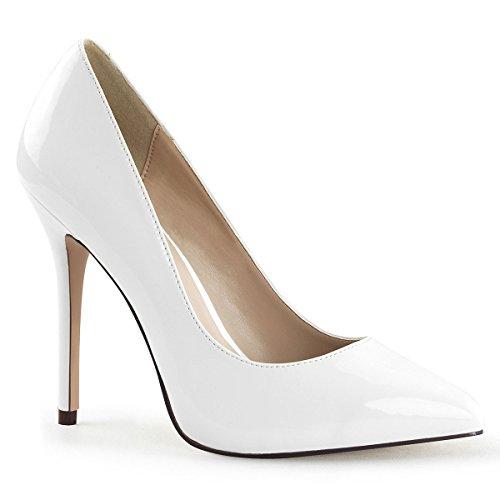 Heels-Perfect - Zapatos de vestir de Material Sintético para mujer Blanco - Weiss (weiss)
