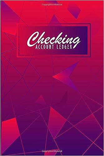 amazon com checking account ledger check book log check and debit