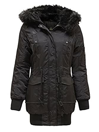 Chaos Theory Women's Brave Soul Coat Winter Fur Hooded