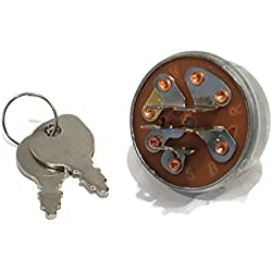 New IGNITION KEY SWITCH & 2 Keys for Toro Wheel Horse 103990 111216 Lesco 050102 by The ROP Shop