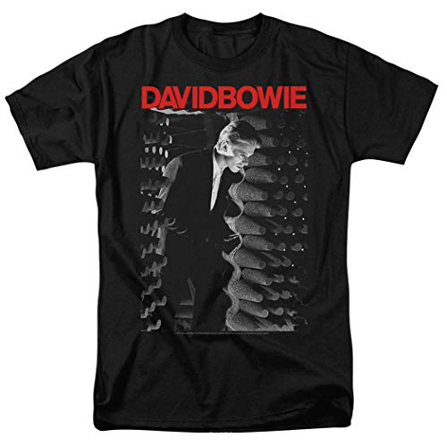 Unisex David Bowie Station to Station Rock Album T Shirt & Stickers