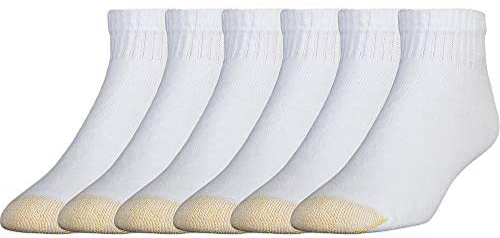 Gold Toe Men's 656p Cotton Quarter Athletic Socks Multipairs