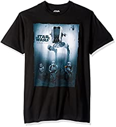 Star Wars Men's Rogue One Walk in It T-Shirt, Black, XX-Large