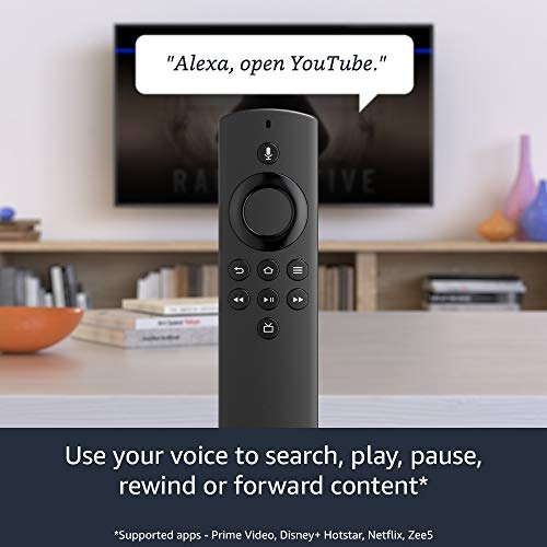 All-new Fire TV Stick Lite with Alexa Voice Remote Lite | Stream HD Quality Video | No power and volume buttons | 2020… 2