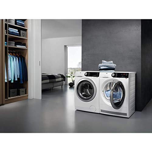 AEG-T8DEE945R-Freestanding-Heat-Pump-Tumble-Dryer-with-Absolutecare-Technology-9kg-Load-White