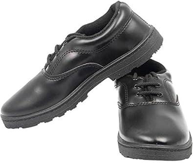 Buy Lakhani Boys Black School Shoe at
