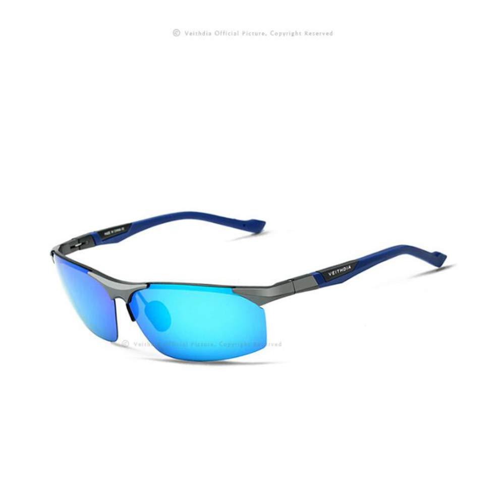 TtKj Men Al-Mg Color Film Polarizing Sunglasses Fishing Driver Driving Outdoor Sports Leisure Travel Special Sunglasses