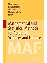 Amazon business insurance books mathematical and statistical methods for actuarial sciences and finance maf 2016 fandeluxe Images