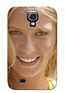Galaxy S4 Case Slim [ultra Fit] Maria Sharapova Tennis Model Babe Russian (62) Protective Case Cover(best Gift Choice For Friends)