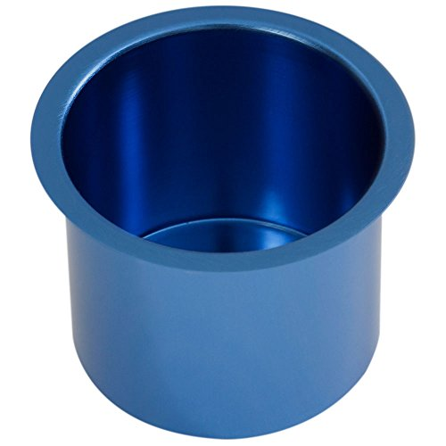 GSE Games & Sports Expert Jumbo Aluminum Drop-in Cup Holders (5 Colors Available) (Blue) ()