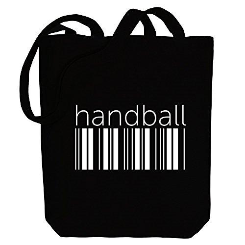 Idakoos Handball barcode - Sport - Bereich für Taschen
