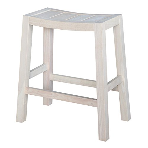 Amazon Com International Concepts Ranch Stool 24 Inch