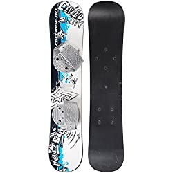 EMSCO Group - Graffiti Snowboard - Great for Beginners - For Kids Ages 5-15 - Design your Own Board Graphic - Solid Core Construction - Adjustable Step-In Bindings