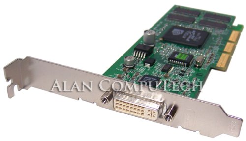 HP nVidia GF2 MX200 DVI-AGP 64MB Video Card 279777-001 ()