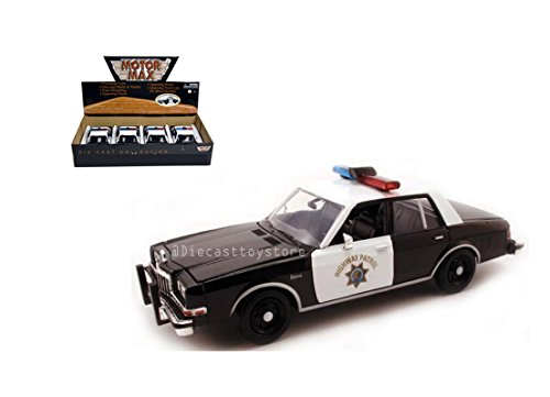 - Motor Max NEW DIECAST TOYS CAR 1:24 DISPLAY 1986 DODGE DIPLOMAT (HIGHWAY PATROL) WITHOUT RETAIL BOX 76466D