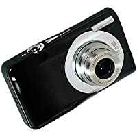 Webat Mini Digital Compact Camera 2.7 inch TFT LCD HD Compact Digital Camera with 8 x Digital Zoom - Black