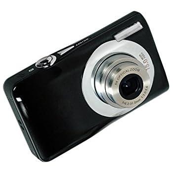 Webat Mini Digital Compact Camera 2.7 inch TFT LCD HD Compact Digital Camera with 8 x Digital Zoom - Black
