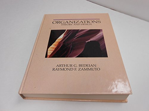 Organizations: Theory and Design