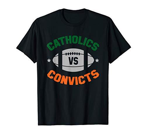 Catholics Vs. Convicts Est. 1988 Classic Vintage T-Shirt