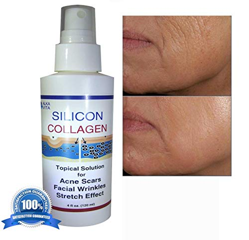 (Acne Scars Light Superficial Type & Blemishes Skin Restorer SILICON & COLLAGEN Topical Spray 4 fl oz.)
