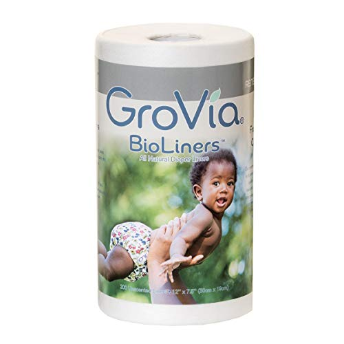 GroVia BioLiners Unscented Diaper