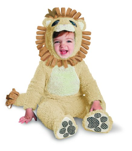 Disguise Baby's Too Cute To Spook Jungle King Costume, Tan/Brown, 12-18 Months