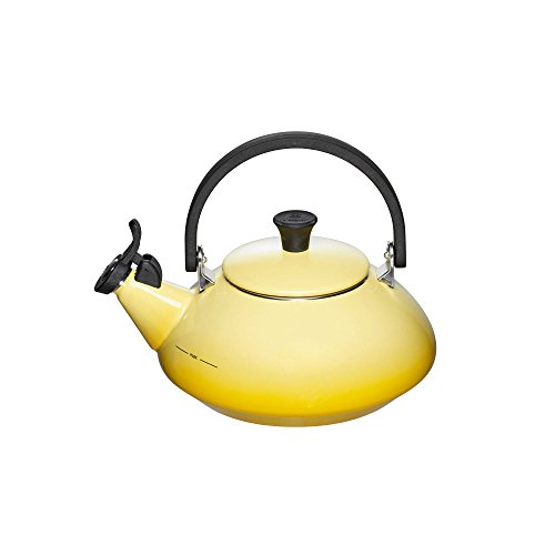 Le Creuset Enameled Steel Zen Tea Kettle, 1-2/3-Quart by Le Creuset (Image #1)