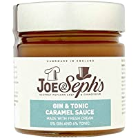 Joe & Seph's Gin & Tonic Caramel Sauce 430g (Pack of 4)
