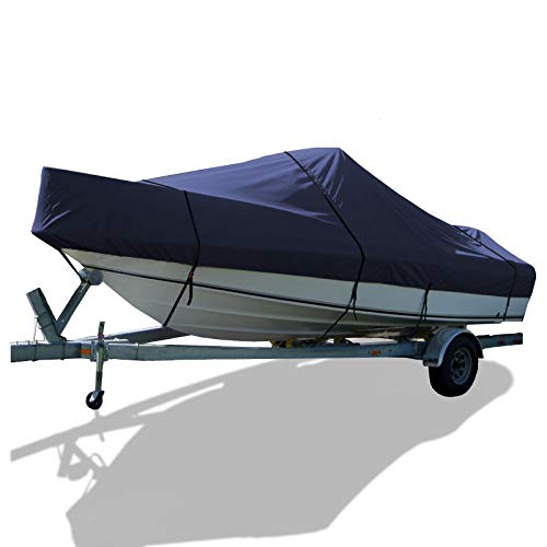 (SavvyCraft Whaler Style Trailerable Boat Storage Cover (Navy, 19'.6