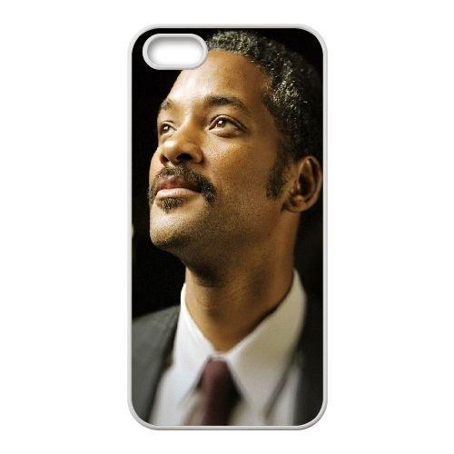Will Smith coque iPhone 4 4S cellulaire cas coque de téléphone cas blanche couverture de téléphone portable EOKXLLNCD20734
