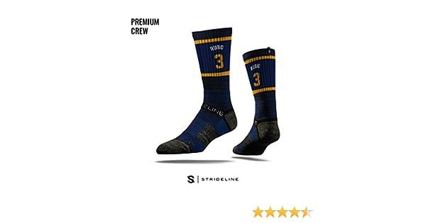 Strideline NBA Utah Jazz Ricky Rubio - Calcetines deportivos de primera calidad, talla única: Amazon.es: Deportes y aire libre