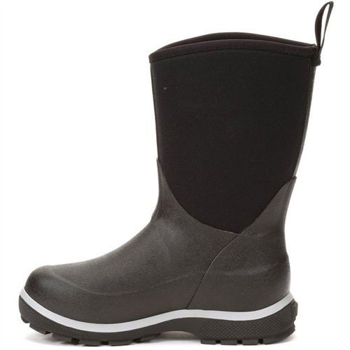 Image of Muck Boot Kid's Element Waterproof Boots, Black, Neoprene, Rubber, Fleece, 4 Big Kid M
