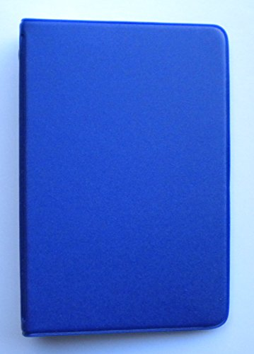 [Mead 46030-DB Mini 6-Ring Dark Blue Memo Book with 3 x 5-inch Lined Paper] (6 Ring Memo Binder)