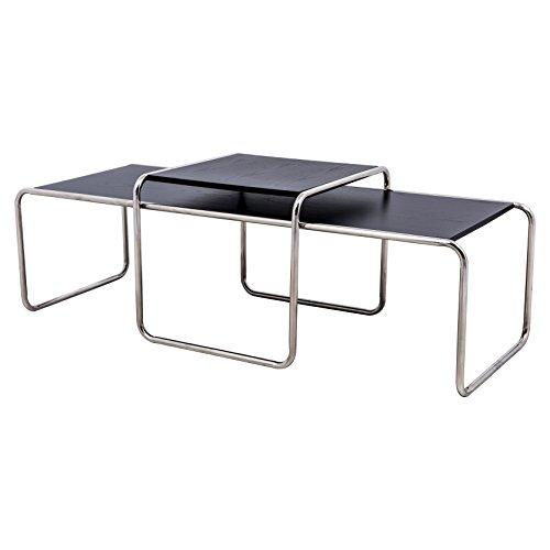 esting Coffee Table, Black (Knoll Living Room Coffee Table)