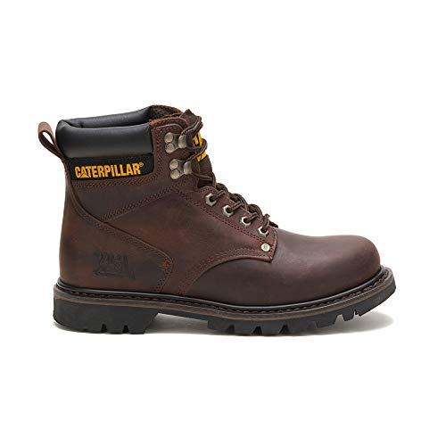 (Caterpillar Men's Second Shift Work Boot,Dark Brown,5.5 M US )