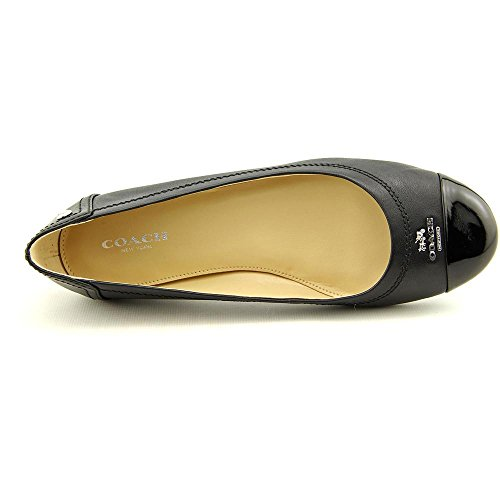 Coach-Womens-Chelsea-Matte-Calf-Patent-Leather-Flats-Style-A4609