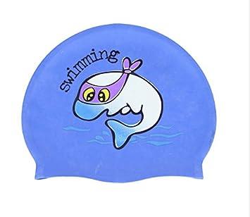 Bonnet de bain pour enfant Tissu Bonnet Casquette en tissu Motif dessin  animé Bonnet de bain