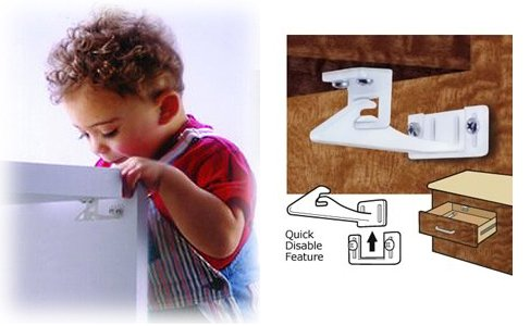 Mommy's Helper Safe-Lok for Drawers and Cabinets (Set of 6 packs of 6!)