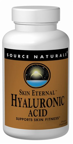 SOURCE NATURALS Skin Eternal Hyaluronic Acid Tablet, 60 Count ()