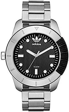 メンズ レディース スーパースター 48mm シルバー ステンレス 10気圧防水 ADH3088 腕時計 [並行輸入品]