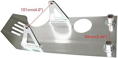 Red ZXTDR Skid Plate Guard Protector for 70cc 110cc 125cc Pit Dirt Bike XR50 CRF50 XR 50 CRF SP07