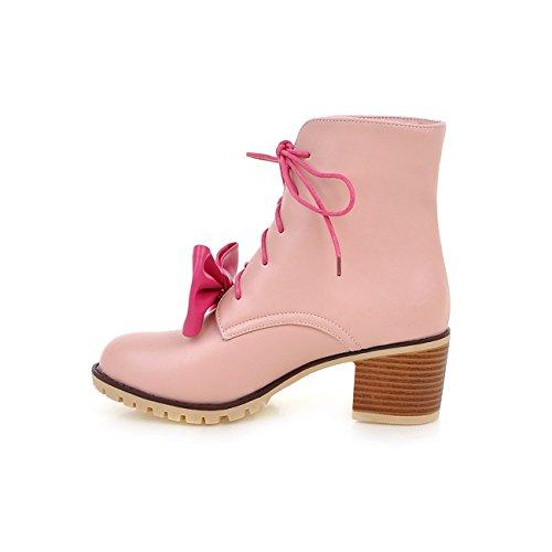 YL Women's Boots Pink PIRSUH7la
