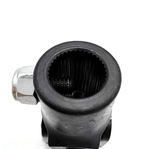3/4''-36 Spline x 3/4'' DD Black Single Universal Steering Shaft U Joint New