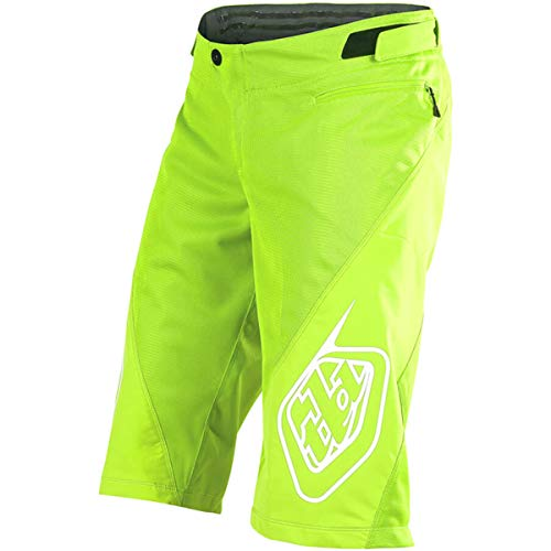 Troy Lee Designs Sprint Solid Youth Off-Road BMX Cycling Shorts - Flo Yellow / 24 ()