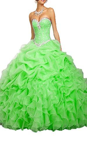 a3901076581 ... Women s Beaded Organza Flower Girl Dress Ball Gown Quinceanera Dresses  For Little Girls.   